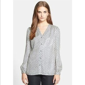 NWT Tory Burch Caralyn Blouse Top